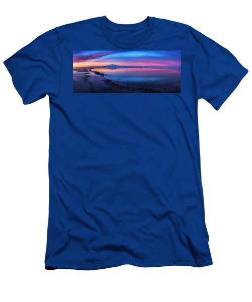 Antelope Island Sunrise Men's T-Shirt (Athletic Fit)