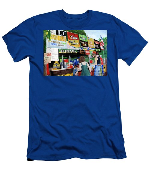 Appalachian Picnic Men's T-Shirt (Slim Fit) by Sandy McIntire