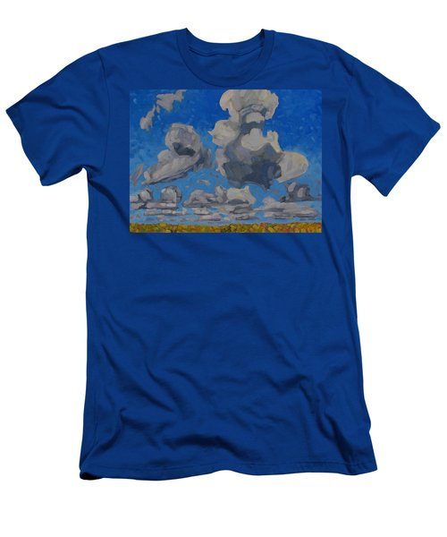 April Cumulus Men's T-Shirt (Athletic Fit)