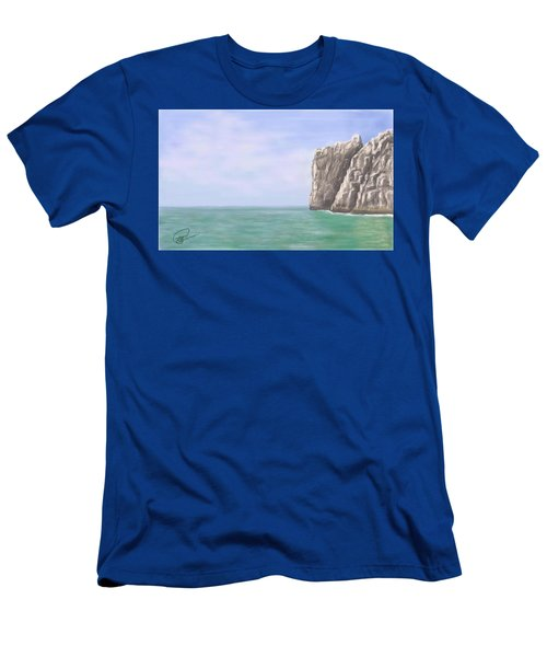 Aqua Sea Men's T-Shirt (Athletic Fit)
