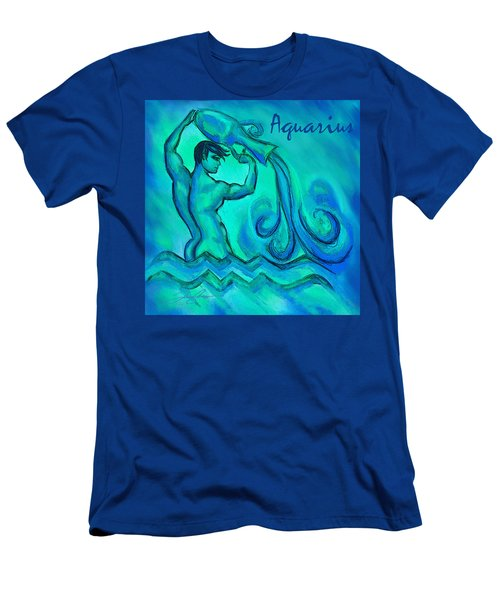 Aquarius Men's T-Shirt (Athletic Fit)