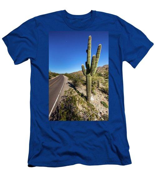 Arizona Highway Men's T-Shirt (Athletic Fit)