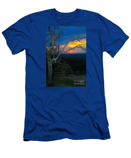 Arkansas Sunset II Men's T-Shirt (Slim Fit) by John Roberts