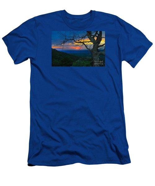 Arkansas Sunset Men's T-Shirt (Slim Fit) by John Roberts
