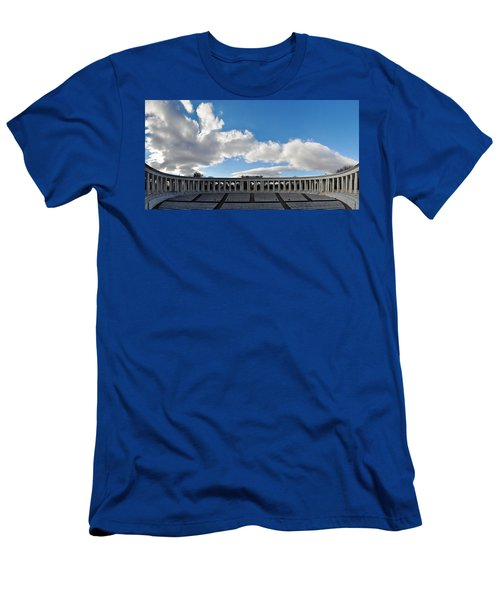 Arlington National Cemetery Memorial Amphitheater Panorama Men's T-Shirt (Athletic Fit)
