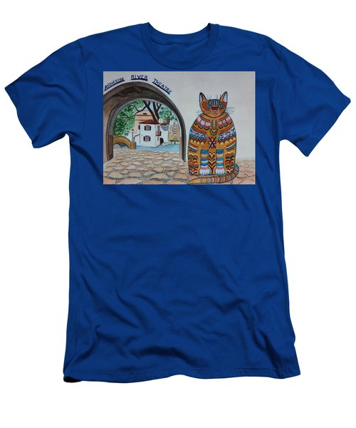 Arneson Theatre Cat Men's T-Shirt (Athletic Fit)