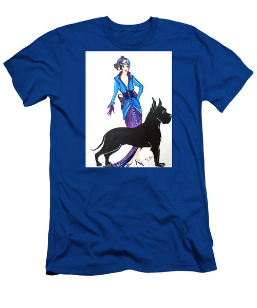 Art Deco 1920's Myra Men's T-Shirt (Athletic Fit)