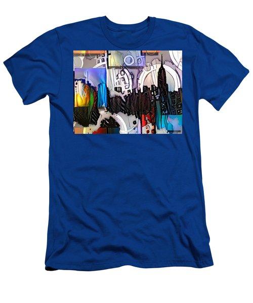 Art Manhattan Men's T-Shirt (Athletic Fit)