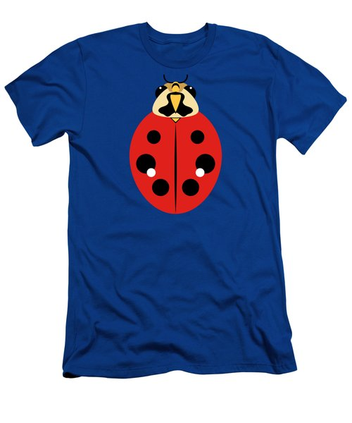 Ladybug Graphic Red Men's T-Shirt (Slim Fit) by MM Anderson