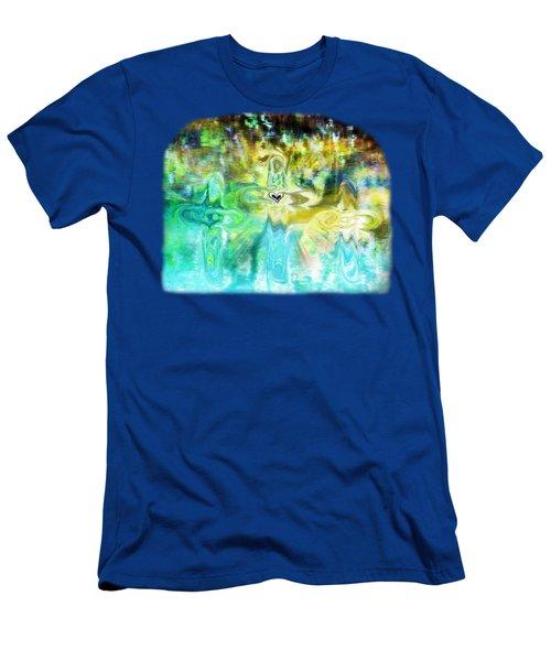 3 Crosses Men's T-Shirt (Athletic Fit)