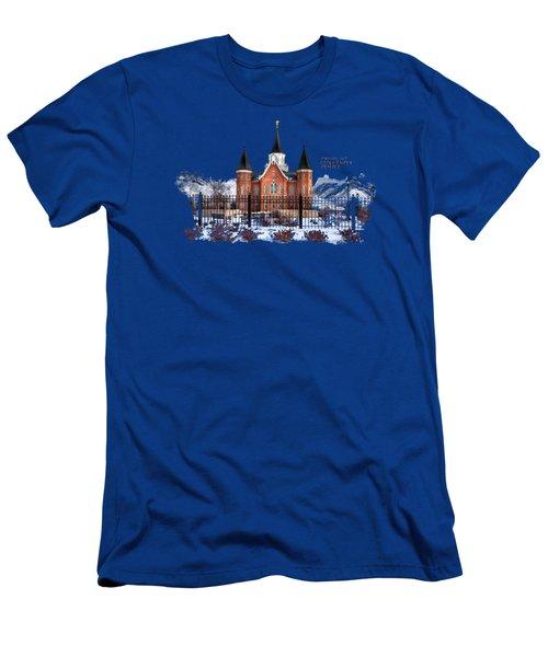 Provo City Center Temple Lds Large Canvas Art, Canvas Print, Large Art, Large Wall Decor, Home Decor Men's T-Shirt (Athletic Fit)