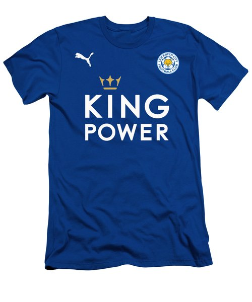 Leicester City,the Foxes Men's T-Shirt (Athletic Fit)