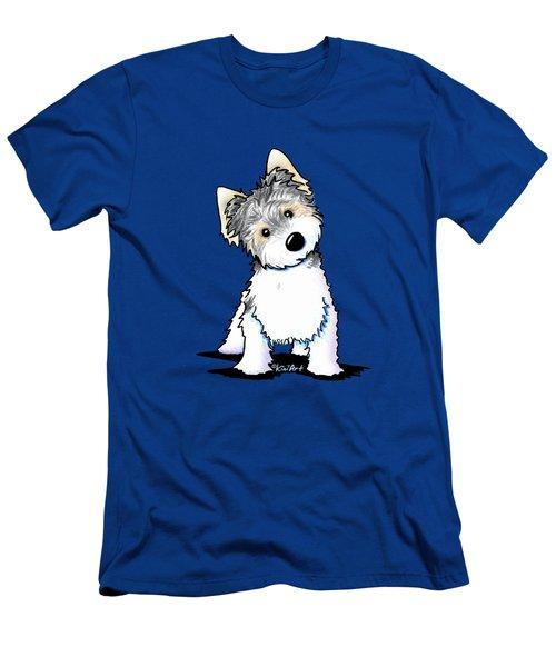 Cosmo Kiniart Petcature Portrait Men's T-Shirt (Athletic Fit)