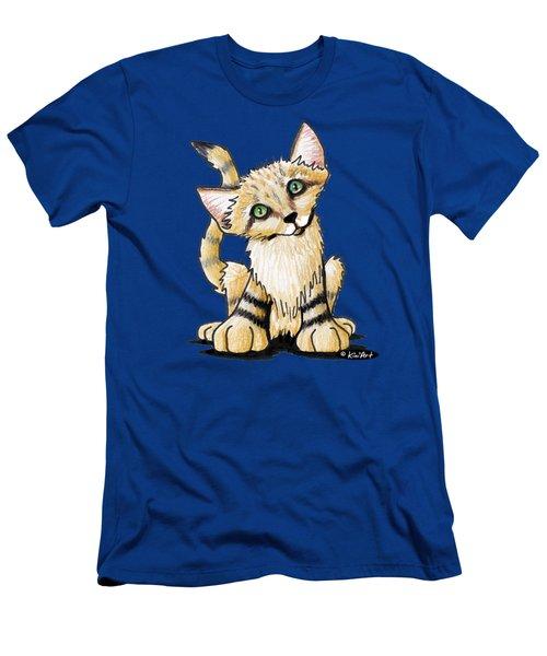 Sand Cat Men's T-Shirt (Athletic Fit)