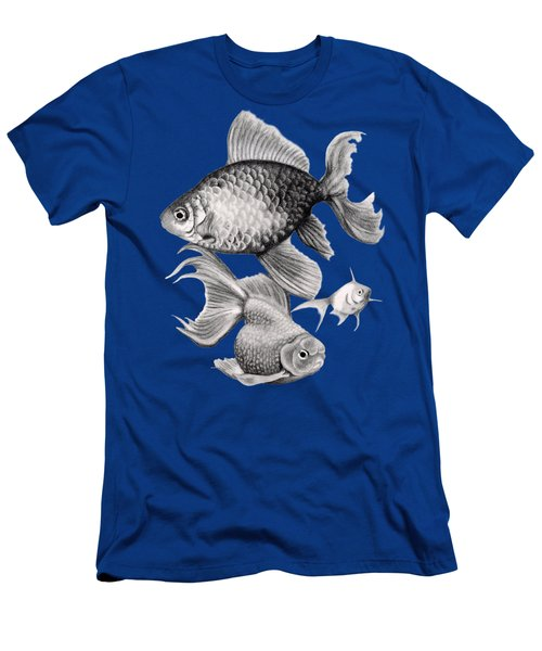 Goldfish Men's T-Shirt (Slim Fit)