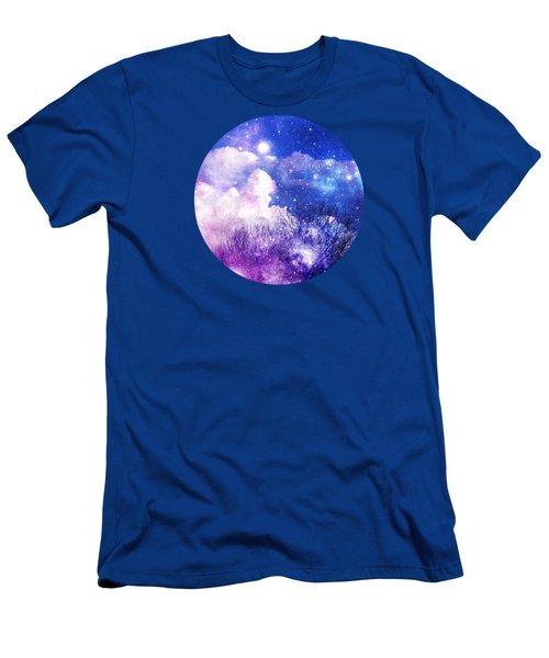 As It Is In Heaven Mandala Men's T-Shirt (Slim Fit) by Leanne Seymour