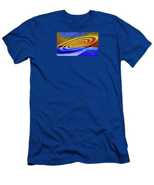 Asymmetrical Amid Chaos Men's T-Shirt (Slim Fit) by Mike Breau