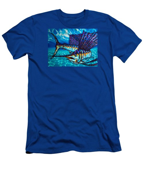 Atlantic Sailfish Men's T-Shirt (Athletic Fit)