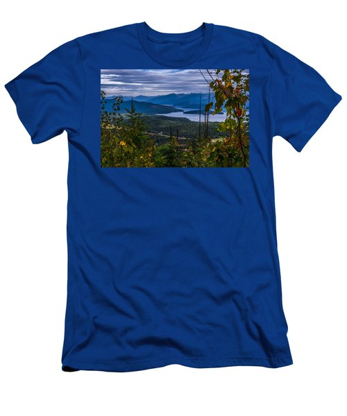 Autumn At Priest Lake Men's T-Shirt (Slim Fit) by Yeates Photography