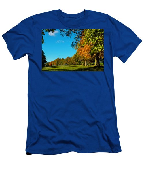 Autumn At World's End Men's T-Shirt (Athletic Fit)