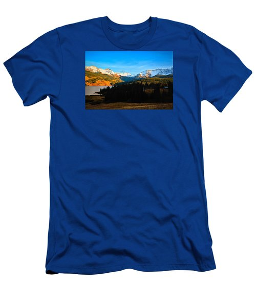 Autumn Drama Men's T-Shirt (Athletic Fit)