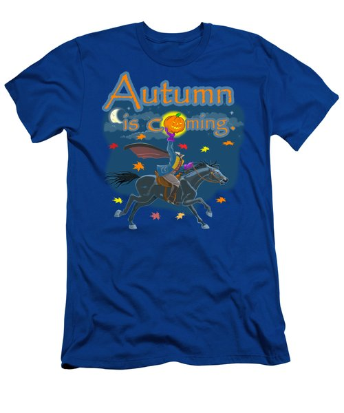 Autumn Is Coming Men's T-Shirt (Athletic Fit)