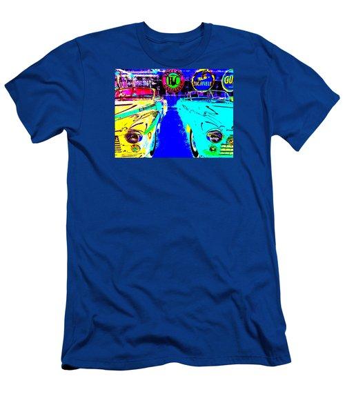 Bahre Car Show II 40 Men's T-Shirt (Athletic Fit)