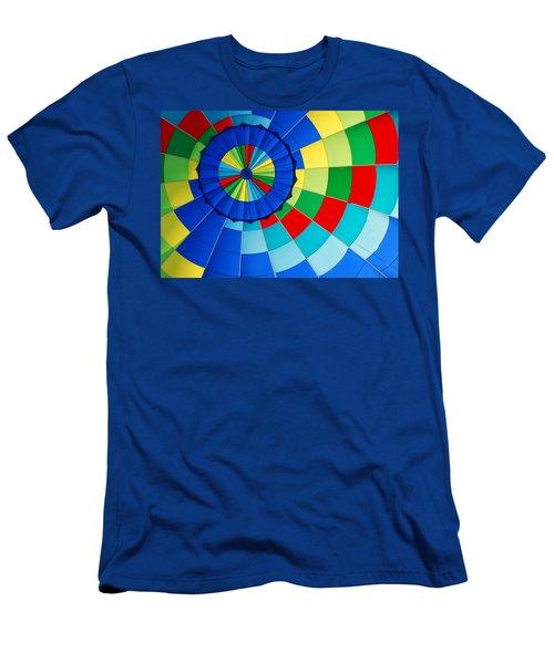 Balloon Fantasy 8 Men's T-Shirt (Slim Fit) by Allen Beatty