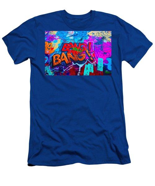 Bang Graffiti Nyc 2014 Men's T-Shirt (Slim Fit) by Joan Reese