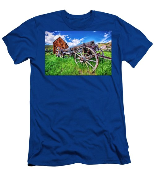 Bannack Wagon Men's T-Shirt (Athletic Fit)