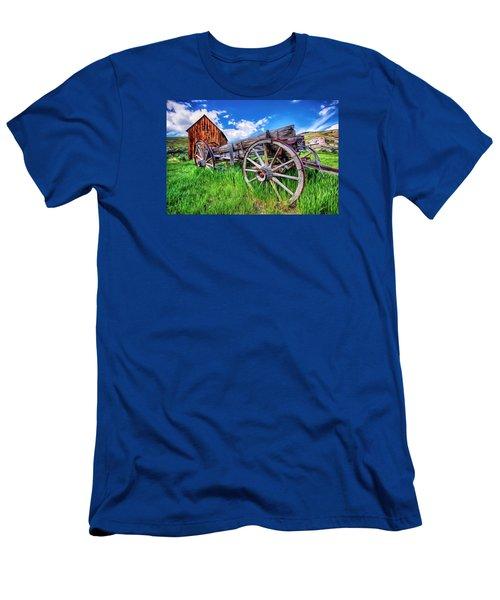 Bannack Wagon Men's T-Shirt (Athletic Fit)