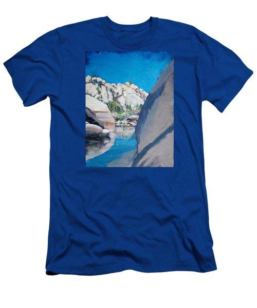 Barker Dam Men's T-Shirt (Slim Fit) by Richard Willson