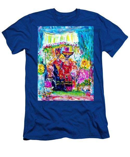 Batak Weding Men's T-Shirt (Athletic Fit)