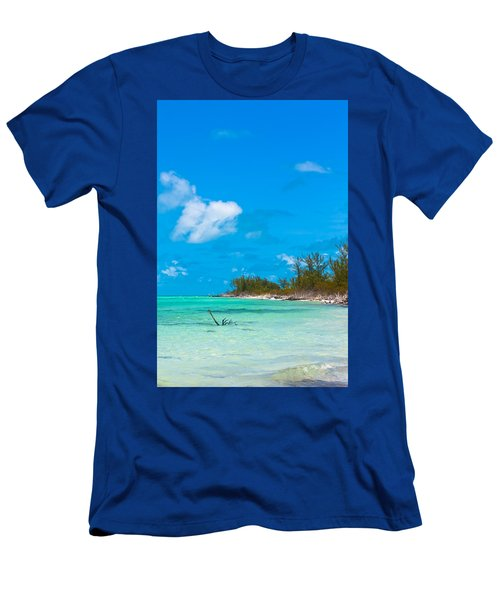 Beach At North Bimini Men's T-Shirt (Athletic Fit)