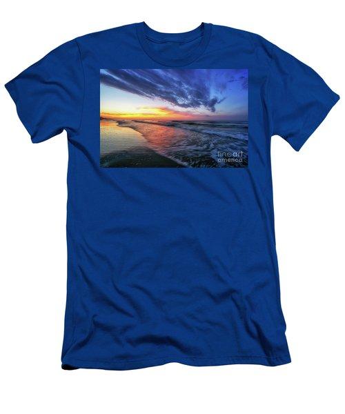Beach Cove Sunrise Men's T-Shirt (Athletic Fit)