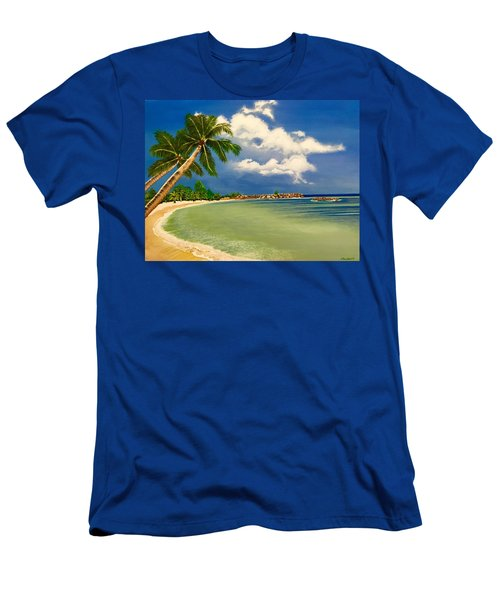 Beach Getaway Men's T-Shirt (Athletic Fit)