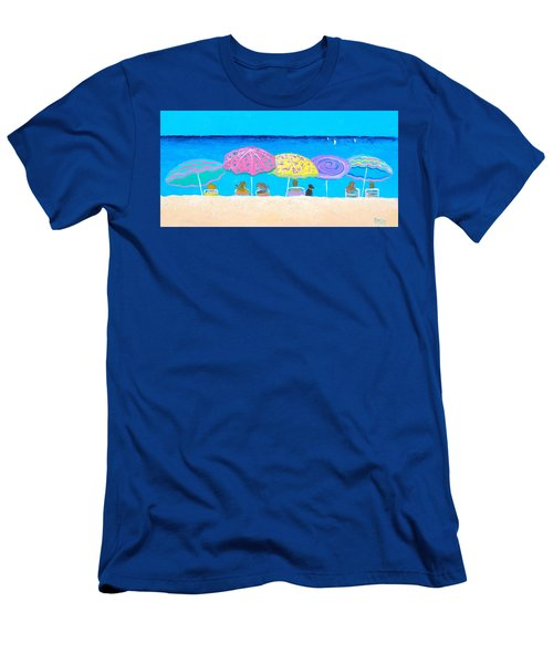 Beach Sands Perfect Tans Men's T-Shirt (Athletic Fit)