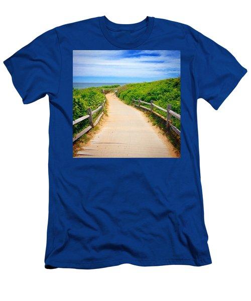 Cape Cod Paradise  Men's T-Shirt (Athletic Fit)