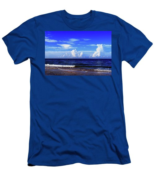 Men's T-Shirt (Athletic Fit) featuring the photograph Beautiful Ocean View by Gary Wonning