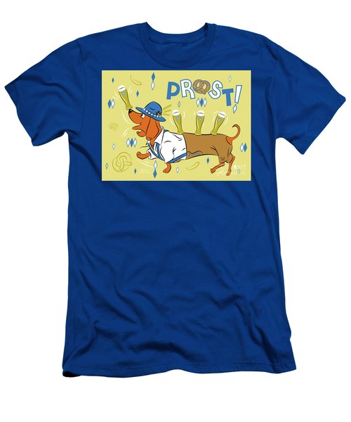 Beer Dachshund Dog Men's T-Shirt (Athletic Fit)