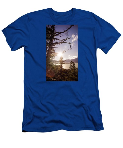 Men's T-Shirt (Slim Fit) featuring the photograph Before Sunset by Michele Cornelius