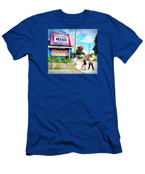 Bel Air  Men's T-Shirt (Slim Fit) by Patricia L Davidson