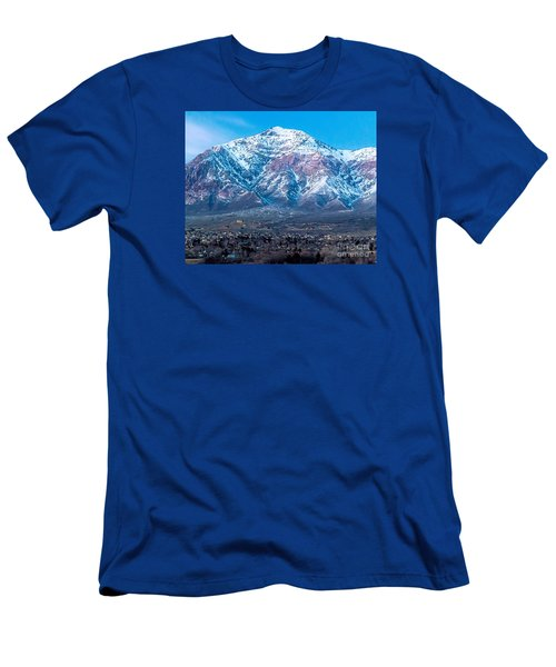 Ben Lomond At Dusk Men's T-Shirt (Athletic Fit)