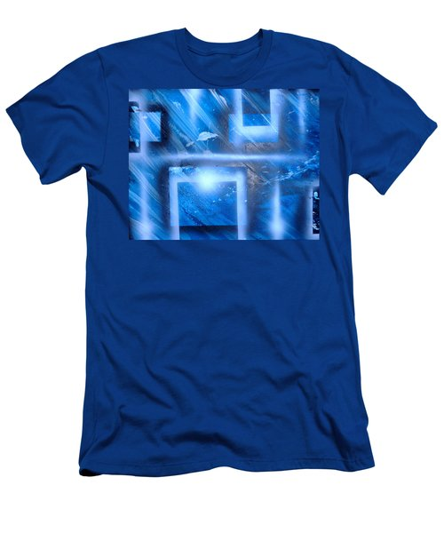 Big Blue II Men's T-Shirt (Athletic Fit)