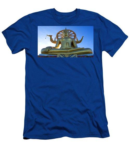 Big Buddha At Koh Samui Men's T-Shirt (Athletic Fit)