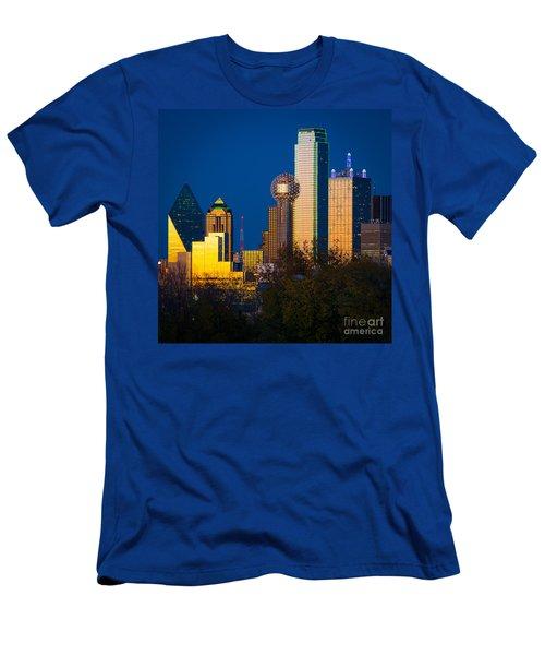 Big D Up Close Men's T-Shirt (Slim Fit) by Inge Johnsson
