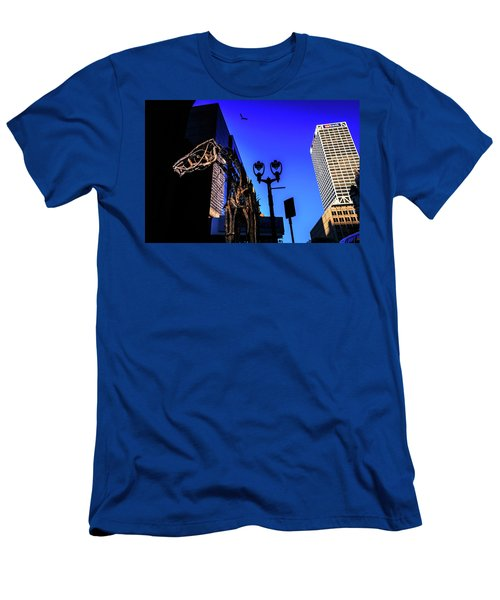 Big Piney Sculpture In Downtown Milwaukee Men's T-Shirt (Athletic Fit)