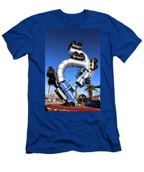 Big Rig Jig Balancing In Vegas Men's T-Shirt (Athletic Fit)