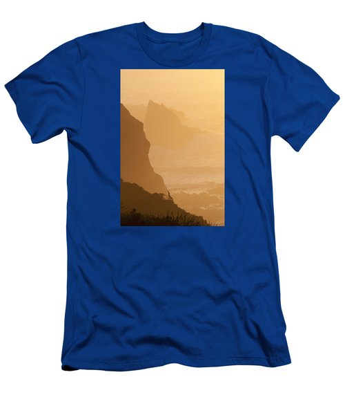 Big Sur Sunset Men's T-Shirt (Athletic Fit)