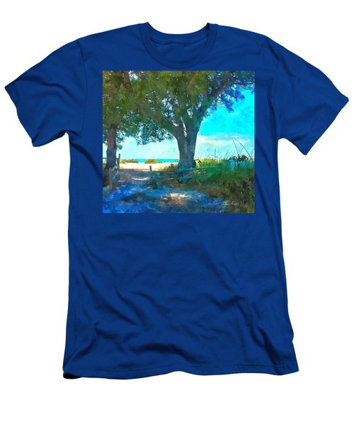 Bike To The Beach Men's T-Shirt (Athletic Fit)